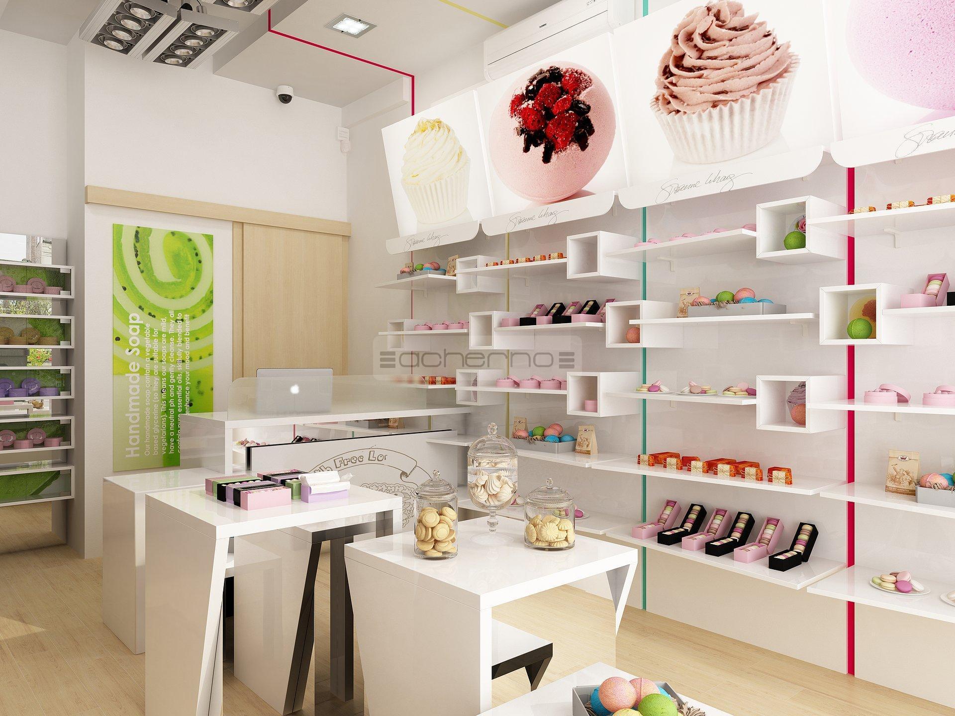 Acherno raumgestaltung ladengesch ft boom for Raumgestaltung cafe