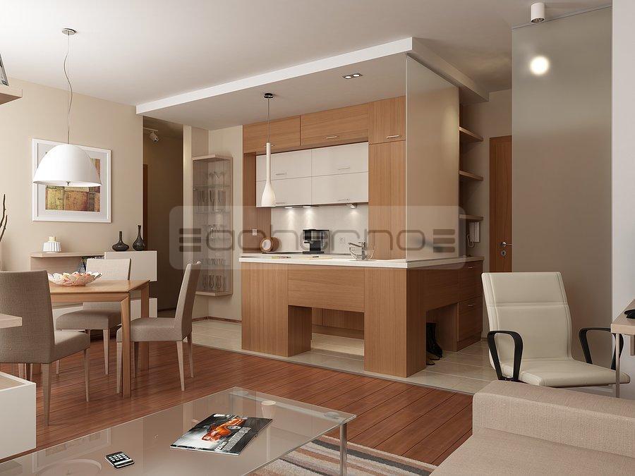 Acherno raumgestaltung wohnung schlichte eleganz in orange for Raumgestaltung und innenarchitektur