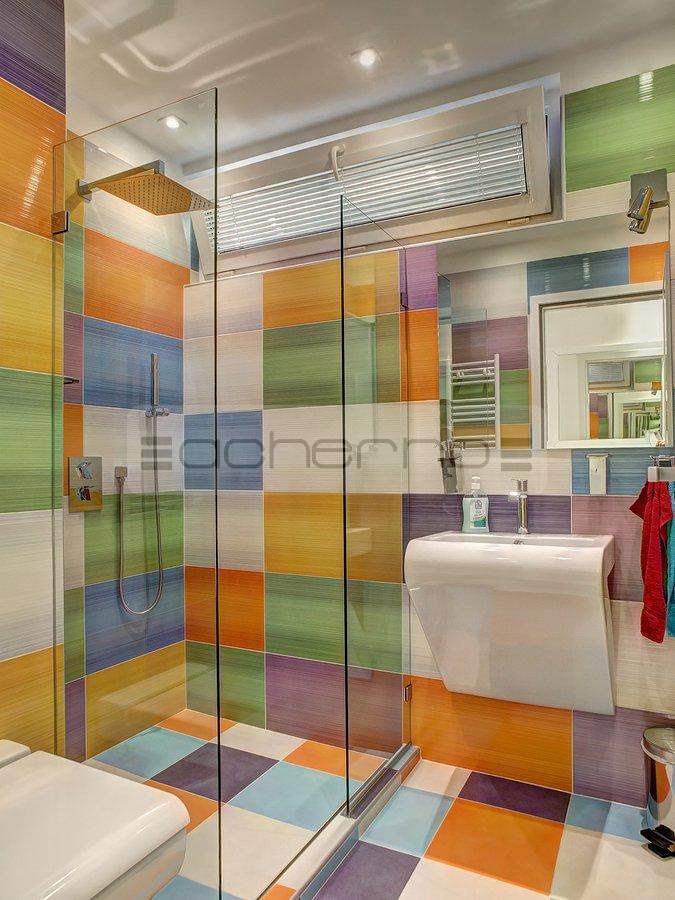 Design bunt badezimmer for Scha ne wandspiegel