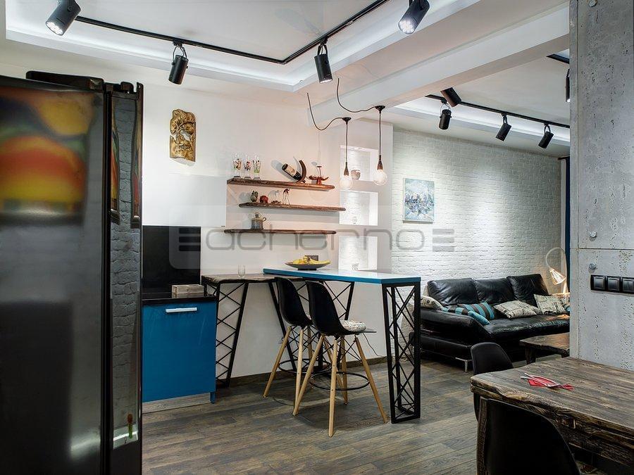 acherno - wohnung design beton, ziegel und eisen, Innenarchitektur ideen